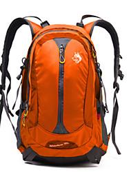 cheap -Jungle King 30 L Hiking Backpack Waterproof Breathable Outdoor Hiking Climbing Cycling / Bike Nylon Orange Green Blue