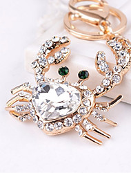 cheap -Keychain Heart Diamond / Rhinestone Decorated Case Fashion Imitation Diamond Ring Jewelry White For Gift Daily