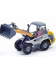cheap -1:50 Toy Car Vehicles Forklift Wheel Tractor-Scraper City View Cool Exquisite Metal Alloy All Boys' Girls' 1 pcs
