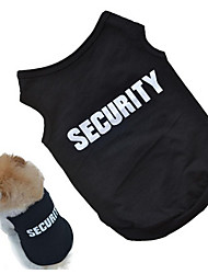 cheap -New Fashion Summer Cute Pet Dog Puppy Clothes Cotton Printed Vest T Shirts High Quality
