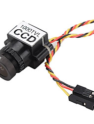 Недорогие -камера fpv 1000tvl 1/3 ccd 110 градусов 2.8mm объектив мини fpv 5-20v камера ntsc / pal переключаемый для гоночного беспилотника