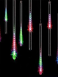 cheap -30cm*8 Tube 144 LEDs Falling Rain Drop Icicle Snow Fall String LED Waterproof Christmas Lights