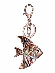 cheap -Keychain Fish Diamond / Rhinestone Decorated Case Fashion Imitation Diamond Ring Jewelry Rose Gold For Gift Daily