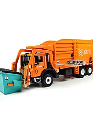 cheap -Toy Truck Construction Vehicle Construction Vehicle Dump Truck Garbage Recycling Truck Retractable Metal Alloy Mini Car Vehicles Toys for Party Favor or Kids Birthday Gift 1 pcs / Kid's