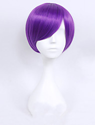 cheap -Cosplay Cosplay Cookie Anime Cosplay Wigs Unisex 11.8 inch Heat Resistant Fiber Blue Pink Fuchsia Anime