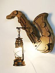 cheap -Vintage Wall Lamps & Sconces Living Room Wood / Bamboo Wall Light 220-240V 40 W / E27