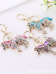 cheap -Keychain Horse Cartoon Sweet Ring Jewelry Purple / Blue / Pink For Daily Date