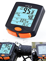 cheap -YT-813 Bike Computer / Bicycle Computer Waterproof Stopwatch Wireless Mountain Bike / MTB Road Cycling Cycling