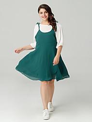 cheap -Women's Going out Slim Sheath Dress Green XXL XXXL XXXXL / Sexy