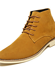 cheap -Men's Suede Fall Comfort Boots Blue / Brown / Black