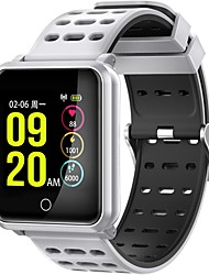 cheap -KING-WEAR® N88 Men Smart Bracelet Smartwatch Android iOS Bluetooth Waterproof Touch Screen Heart Rate Monitor Blood Pressure Measurement Sports Pedometer Call Reminder Activity Tracker Sleep Tracker