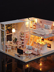 cheap -Dollhouse Miniature Room Accessories Lovely DIY Exquisite Romance Furniture Wooden Contemporary 1 pcs Kid's Adults' Girls' Toy Gift