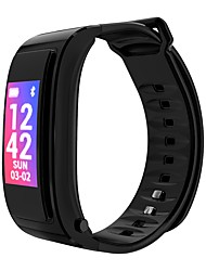 cheap -JSBP YY-IY3 Men Smart Bracelet Smartwatch Android iOS Bluetooth Sports Waterproof Heart Rate Monitor Touch Screen Calories Burned Stopwatch Pedometer Call Reminder Activity Tracker Sleep Tracker