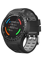 abordables -m1s montre intelligente bluetooth fitness tracker support notification / moniteur de fréquence cardiaque gps intégrés sports smartwatch compatible avec iphone / samsung / téléphones android