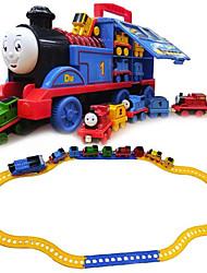Недорогие -Игрушечные поезда и наборы Поезд Шлейф утонченный / Ручная работа / Взаимодействие родителей и детей Пластиковые & Металл / Полипропилен + ABS Все Дети Подарок 1 pcs