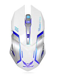 cheap -ZERODATE X70 Wireless 2.4G Gaming Mouse RGB Light 3200 dpi 3 Adjustable DPI Levels 6 pcs Keys