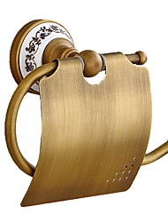 cheap -Toilet Paper Holder New Design / Cool Contemporary Brass 1pc Toilet Paper Holders Wall Mounted