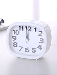 cheap -Alarm clock Analog Plastics Quartz 1 pcs