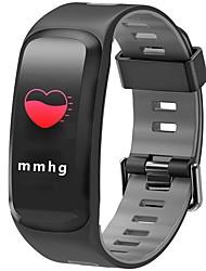 Недорогие -JSBP F4PLUS Женский Умный браслет Android iOS Bluetooth Спорт Водонепроницаемый Пульсомер Измерение кровяного давления Сенсорный экран / Датчик для отслеживания активности / Датчик частоты пульса