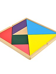 Недорогие -Китайская геометрическая головоломка Взаимосоединяющиеся блоки Для школы Взаимодействие родителей и детей Классика Семья Геометрический рисунок 1 pcs Детские Мальчики Девочки Взрослые Игрушки Подарок