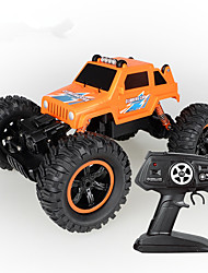 cheap -RC Car 2836 4CH 2.4G Rock Climbing Car / Stunt Car 1:14 8 km/h Simulation / Parent-Child Interaction