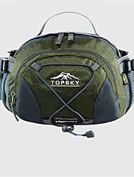 cheap -TOPSKY 8 L Hiking Waist Bag Multifunctional Wear Resistance Outdoor Cycling / Bike Bike / Bicycle Nylon Army Green