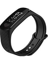 abordables -KUPENG B9 Unisexe Bracelet à puce Android iOS Bluetooth Sportif Imperméable Moniteur de Fréquence Cardiaque Mesure de la pression sanguine Ecran Tactile ECG + PPG Podomètre Rappel d'Appel Moniteur