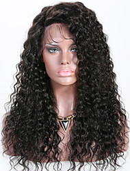cheap -Remy Human Hair Lace Front Wig Layered Haircut Rihanna style Brazilian Hair Curly Black Wig 150% Density with Baby Hair Best Quality New Women's Long Human Hair Lace Wig Premierwigs