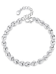 cheap -Women's Chain Bracelet Hollow Out Ball Creative Ladies Trendy Elegant Alloy Bracelet Jewelry Silver For Office & Career Festival
