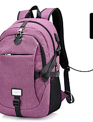 cheap -30 L Hiking Backpack Multifunctional Breathable Rain Waterproof Wear Resistance Outdoor Hiking Camping Bike / Bicycle PU(Polyurethane) Blue Violet Grey