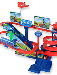 cheap -Toy Trains & Train Sets Train Train Exquisite / Parent-Child Interaction Plastic & Metal / ABS+PC All Kids Gift 1 pcs