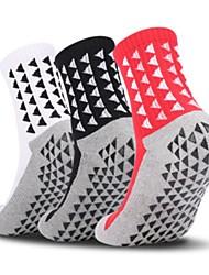 cheap -Adults Adults' Highschool Athletic Sports Socks Football Socks Soccer Socks Cotton Blend Chinlon Cotton Unisex Graphic Socks Grip Socks Anti-Slip Play Football Breathability Winter Sports & Outdoor