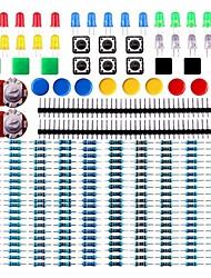 abordables -pack de composants électroniques avec des résistances