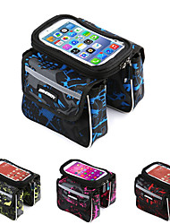 cheap -Cell Phone Bag Bike Handlebar Bag 6.2 inch Touch Screen Waterproof Cycling for Cycling iPhone X iPhone XR Green Red Blushing Pink Mountain Bike / MTB Road Bike / iPhone XS / iPhone XS Max