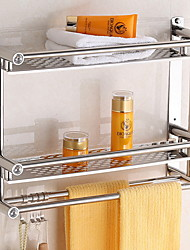 cheap -Bathroom Shelf New Design / Cool Contemporary Stainless Steel 1pc Wall Mounted
