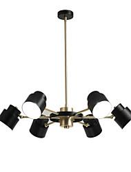 abordables -QINGMING® 6 lumières Mini Lustre Lumière dirigée vers le bas Finitions Peintes Métal Style mini 110-120V / 220-240V Ampoule incluse / G9 / VDE