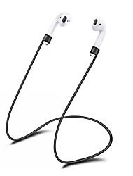 abordables -Écouteurs et astuces pour écouteurs Silicone / Silicone tendre alimentaire Blanc / Noir / Rouge 1 pcs
