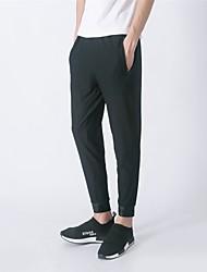 cheap -Mysenlan Men's Cycling Pants Bike Pants / Trousers Pants Breathable Sports Polyester Black Clothing Apparel Relaxed Fit Bike Wear