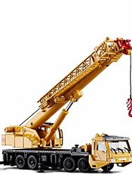 Недорогие -1:50 Игрушечные грузовики и строительная техника Строительная техника Кран Новый дизайн Выдвижной Складной Металлический сплав / Детские