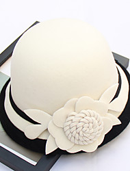 cheap -Other Material Hats with Flower 1pc Wedding / Party / Evening Headpiece