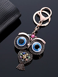 cheap -Keychain Owl Diamond / Rhinestone Decorated Case Fashion Ring Jewelry Rose Gold For Gift Date