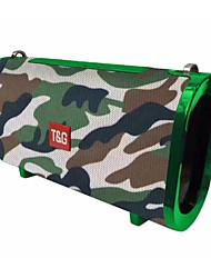 cheap -TG123 Speaker 4.2 Micro USB Bookshelf Speaker Red / Blue / Camouflage Color