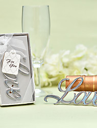 cheap -Non-personalized Stainless Steel / Chrome Bottle Openers / Bottle Favor Classic Theme / Romance / Wedding Bottle Favor