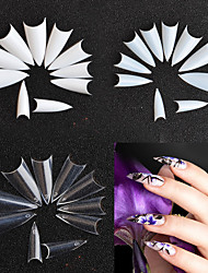 cheap -500pcs False Nails Creative Multi-Design Simple Geometric Pattern Retro Party Daily Wear False Nails for Finger Nail