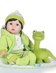 Недорогие -NPKCOLLECTION 24 дюймовый NPK DOLL Куклы реборн Мальчики Reborn Toddler Doll как живой Подарок мерцать с одеждой и аксессуарами на день рождения и праздничные подарки для девочек