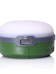 cheap -Jungle King Lanterns & Tent Lights Waterproof LED LED Emitters Waterproof Portable Camping / Hiking / Caving Everyday Use Orange Green