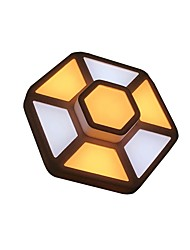 cheap -CXYlight Geometric Flush Mount Ambient Light Painted Finishes Resin Acrylic Mini Style 110-120V / 220-240V LED Light Source Included / LED Integrated