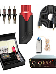 cheap -Professional Tattoo Kit Tattoo Machine - 1 pcs Tattoo Machines, Portable / Professional / All in One Aluminum Alloy 1 rotary machine liner & shader