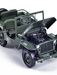 cheap -1:18 Toy Car Vehicles Military Vehicle City View Cool Exquisite Metal Alloy Mini Car Vehicles Toys for Party Favor or Kids Birthday Gift 1 pcs