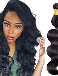 cheap -1 Bundle Hair Weaves Indian Hair Body Wave Classic Human Hair Extensions Remy Human Hair Human Hair 100 g Natural Color Hair Weaves / Hair Bulk / 10A